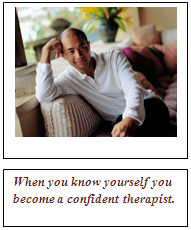 confident therapist